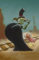 Dastardly Droop by mikemaihack