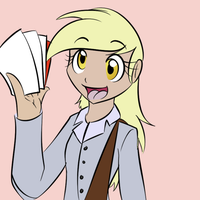 Human Derpy by DizzyPacce
