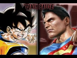 Screwattack's Death Battle: Goku Vs. Superman by Byo2010
