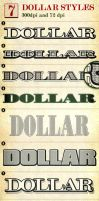 Dollar - Photoshop Layer Styles by mfcoelho