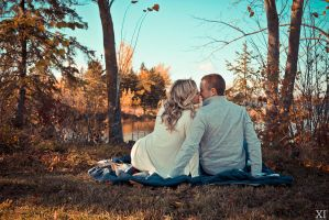 Alaina Engagement- Picnick For Two by TheSilverFoxx