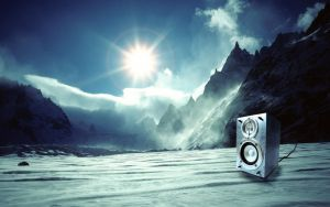 Wallpapers Icy_Speaker_by_molotov_arts