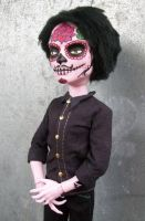 Monster High Cam Day of the Dead Male Doll Roberto by AdeCiroDesigns