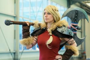 Astrid How to train your dragon 2. by Wildyama