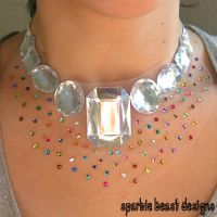 Confetti Necklace by Natalie526
