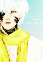 I would give my life to be human by Ludozerkaa