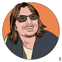 Mitch Hedberg by monsteroftheid