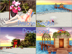 Private beach .: Download :. by kaahgome
