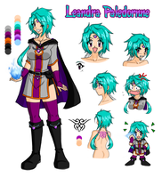 Slayers OC - Leandra Paledornne by zoro4me3