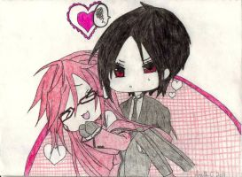 Grell And Sebby by MrsFrenchFry