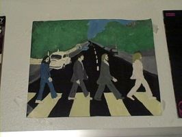 Abbey Road Painting. by AwesomeManChild