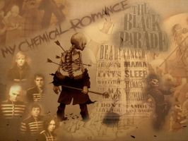 MCR Wallpaper by EmoOnParade