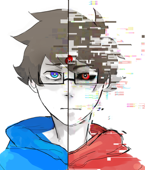 obey. submit. consume - john egbert by LaWeyD