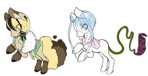 Personal species pony adopts - Open by Ad-opt