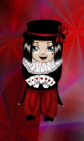 Clown Chibi by ElrithRydrine