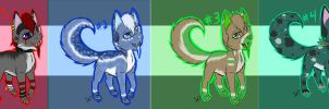 Adoptables Auction Set 1 (CLOSED!) by Xx-Lord-V-xX
