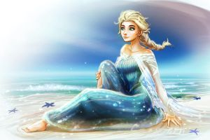 Elsa IN SUMMMMEEEEEERRRRRRRRRRR!!! by rubendevela