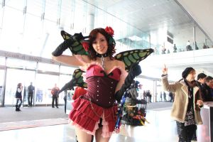 PAX East 2013 - Rosa from Deathsmiles by VideoGameStupid
