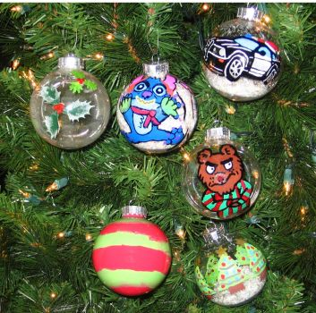christmas ornaments by Barricade9-1-1