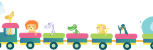 Little cute train by mairimart