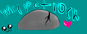 my pet rock :3 by lipazzaner