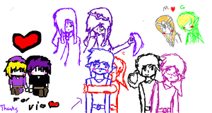Iscribble-Pairings by RedlinkDoll
