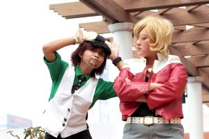 Tiger and Bunny: Barnaby is not Amused by HRecycleBin