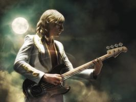 Greg Lake by Cynthia-Blair