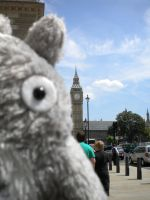 Totoro goes to Parliament by StudioGhibli123