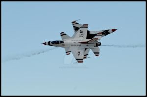 Thunderbirds Nellis V by AirshowDave