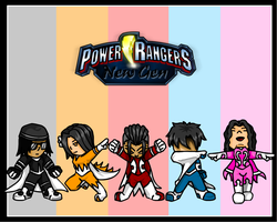 Power Rangers - New Gen by Maverick22