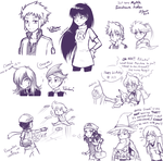 just s'more livestream doodles by firehorse6