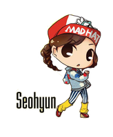 SNSD Seohyun I Got A Boy Chibi ~PNG~ by JaslynKpopPngs
