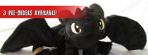 Toothless pre-orders available! by MagnaStorm