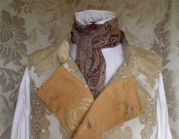 Steampunk jabot PCN1-11 by JanuaryGuest