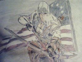 Connor, Assassin's Creed III by ConsultingTimeLord96