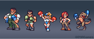 Videogame Boxers by AlbertoV