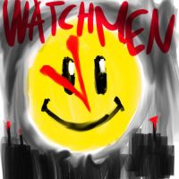 Watchmen Smiley by cat-gray-and-me78