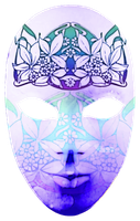 Carnival Mask no.3 by Midniteoil-Burning
