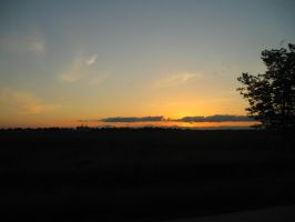 Sunset on the Road by michaelajunker