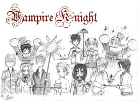 Vampire Knight Summertime by akunin-tsurenai