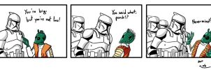 Clone Strip - You don't mess.. by ISignRob