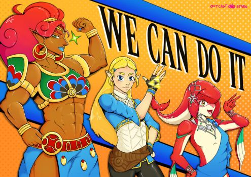 WE CAN DO IT! by Outcast-stars