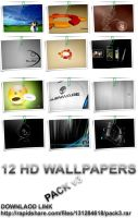 HD Computer Wallpaper Packv3 by Subbmitter