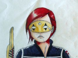 Colored Party Poison Sketch by ReptarOnIce