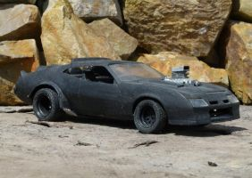 Mad Max's car by otherunicorn