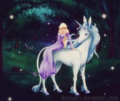 Lady Amalthea by Axsens