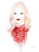 Kate Moss at 40 by grey90