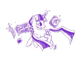 Bearers of Harmony: Twilight Sparkle by QuirkyWallace