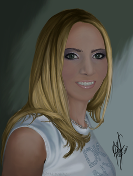 Digital Painting Full View by HaloGoddess1